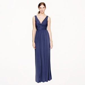 J Crew Helene Maxi Dress in Liquid Jersey, sz 10